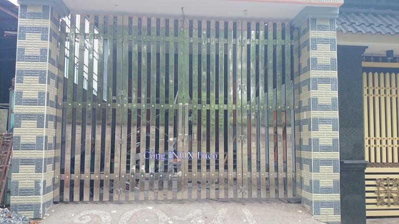 Cửa cổng INOX cao cấp