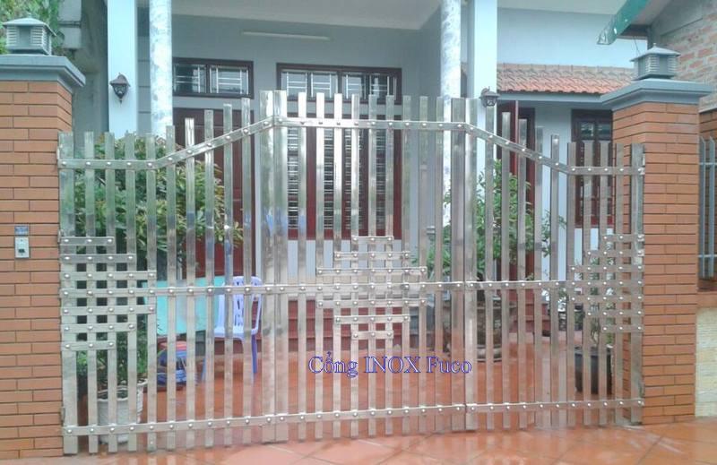 cổng inox fuco