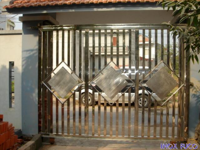 cổng inox tại Hà Nội