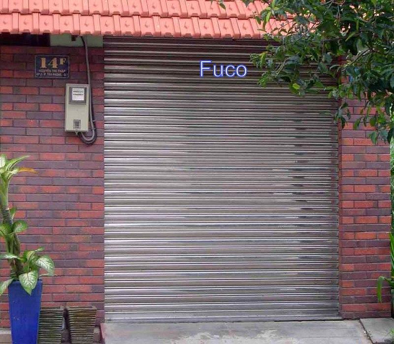 cửa cuốn inox fuco tại Hà Nội