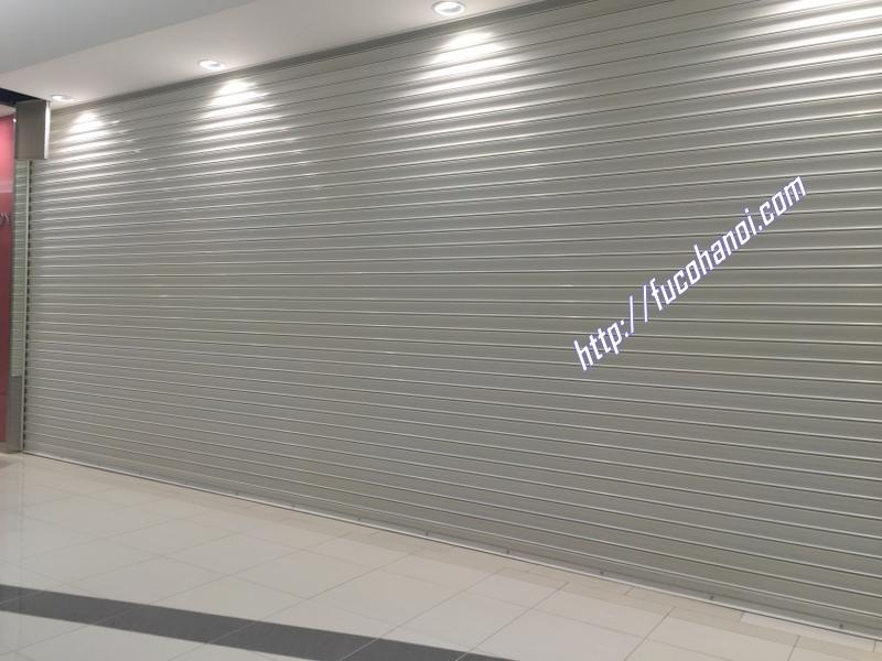cửa cuốn siêu trường loại dầy