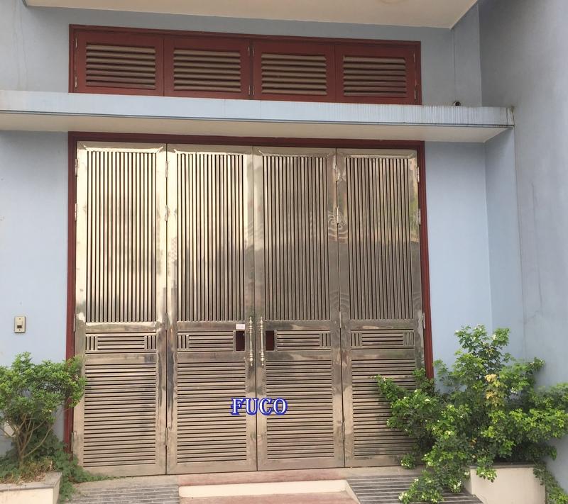 Mẫu cửa INOX đẹp 107, các mẫu inox đẹp nhất tại Hà Nội