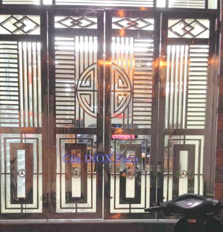 Mẫu cửa inox đẹp fuco năm 2016, các mẫu cửa inox đẹp, tại hà nội, việt nam