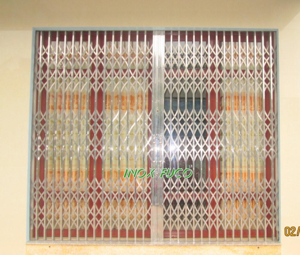 cửa xếp inox hộp fuco tại Hà Nội